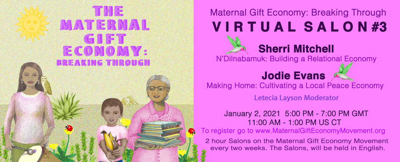 Maternal Gift Economy Salon #3