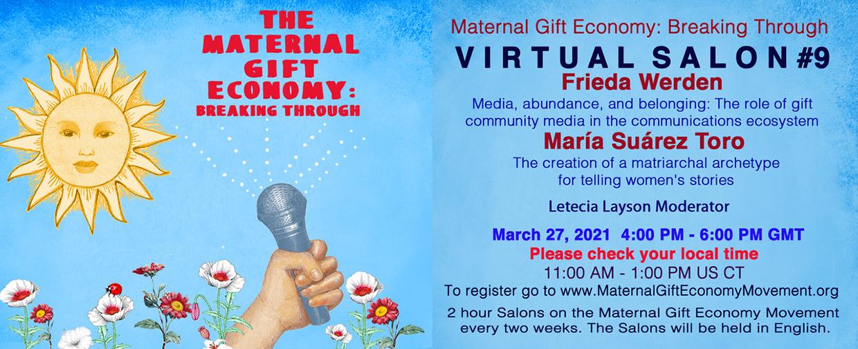 Maternal Gift Economy Salon #9